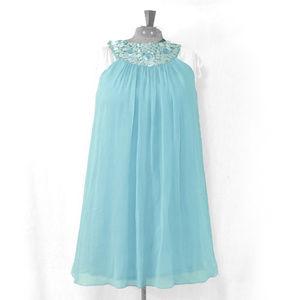 Maggy London Mod 60's Style Silk Babydoll Dress